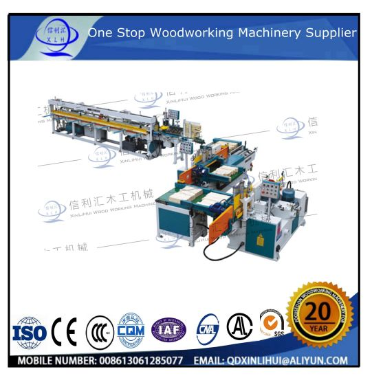 Full Automatic Finger Joint Production Line (tenon shaper/gluing/tenon jointer) / Wood Full Automatic Finger Joint Wood Machine Line