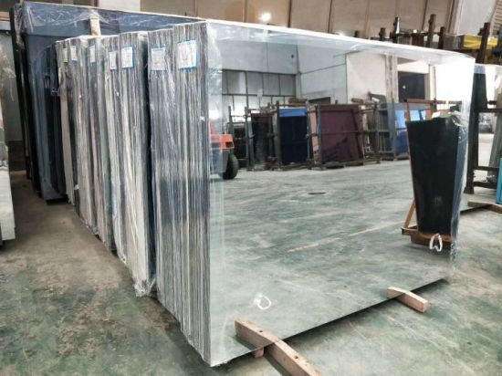 1.8mm 2mm 3mm 4mm 5mm 6mm Double Painted Aluminum Mirror Glass Sheet
