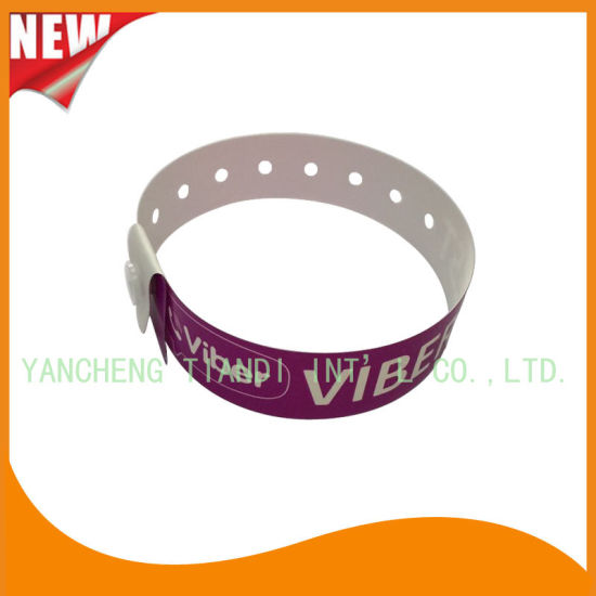 Entertainment Plastic Full Color Printing ID Wristbands Bracelet (E8070-20-5) pictures & photos