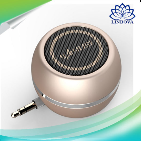 Portable Mini USB Speaker with Stereo and Colorful Design pictures & photos