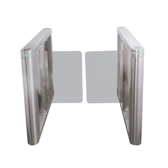 Automatic Pedestrian Stainless Steel Retractable Swing Barrier Turnstile Gate