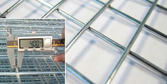 China Stainless Steel Welded Wire Mesh Panel for Gutter Guard ...