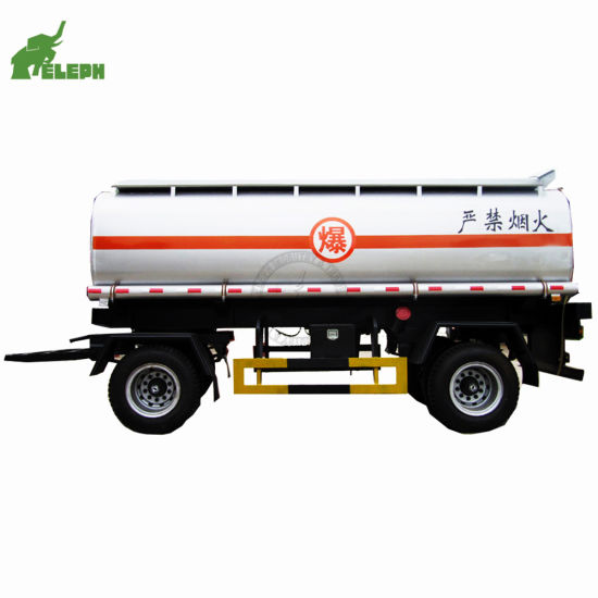 2 Axle 20000 Liters Liquid Storage Tanker Trailer Fuel Tank