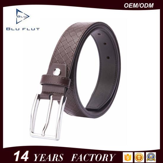 Wholesale Fashion Handmade Men's Brown Cow Leather Waist Belts