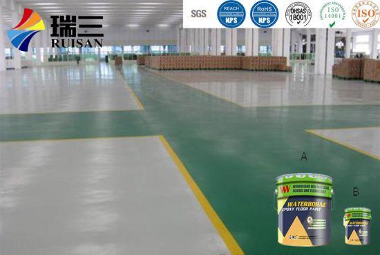 We-8158 Good Hardness Waterborne Epoxy Hardener for Epoxy Floor Paint