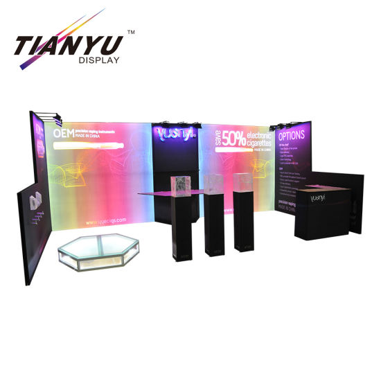 Portable Exhibition Case : China advertising exhibition backdrop portable exhibition booth