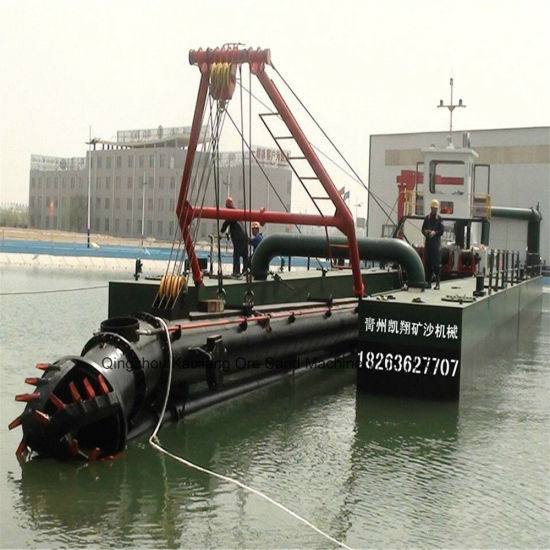 Kx-400 Cutter Suction Dredger with ISO 9001 Certificate pictures & photos