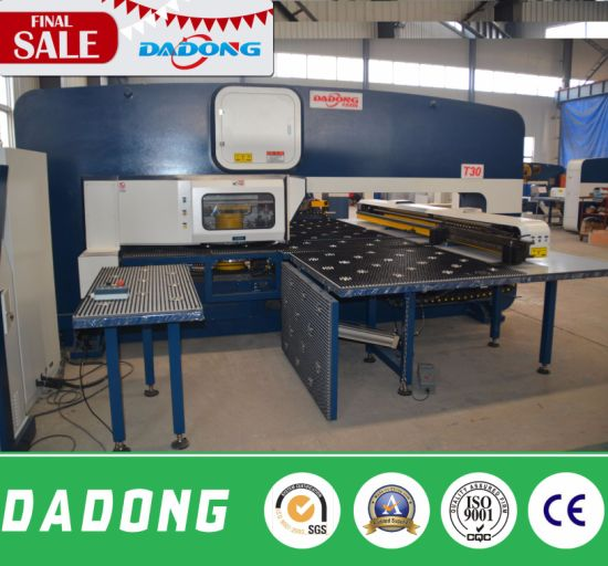 CNC Servo Type Cutting Machine for Sheet Metal Processing pictures & photos