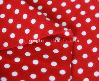Printed 40s Combed Cotton/Spandex 95/5 190GSM Single Jersey Knitting Fabric