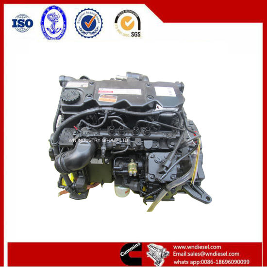 Cummins Isb4.5 Diesel Engine Motor for Bus or Truck or Other Vehicle