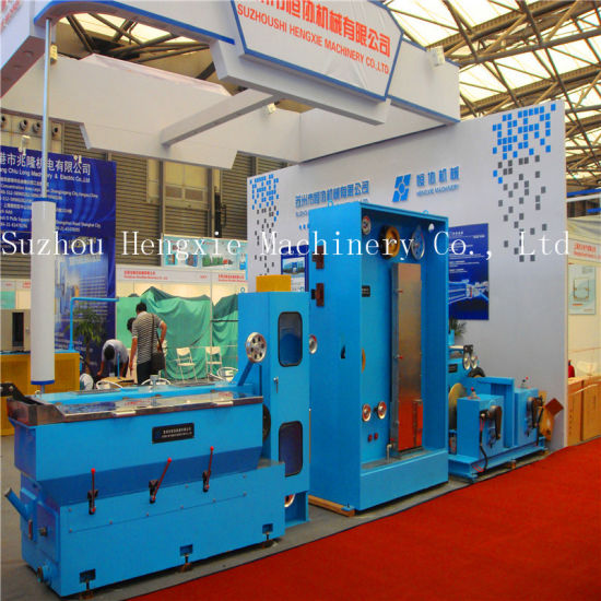 China Medium Copper Wire Drawing Machine with Online Annealing ...