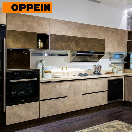 China Made To Order Modular High Gloss Uv Lacquer Kitchen Cabinets