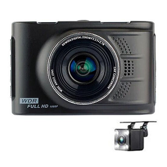 China Black 3 High Definition 32g Double Lens Mini Car Dvr China Dvr Car Dvr