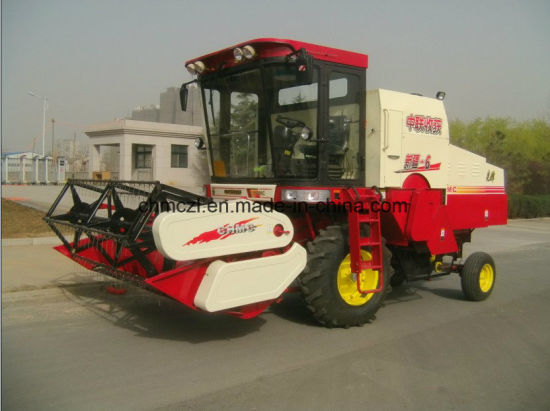 Wheel Type New Model Best Price Rice Harvester pictures & photos