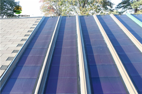 China 72w Rooftop Amorphous Silicon Flexible Solar Panel