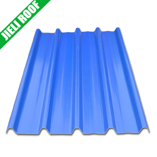 China Blue Color Corrugated Roofing Sheets China Plastic Roof Tiles Pmma Roofing Tiles