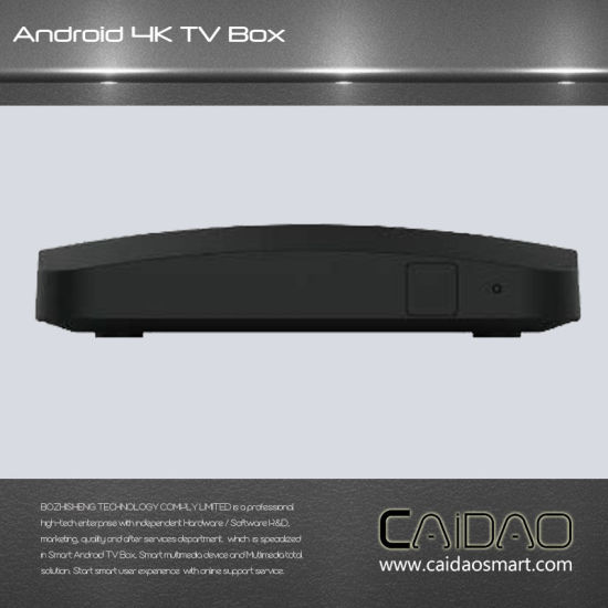 Amlogic S905X Processor Quad Core   2GB RAM Android TV Box pictures & photos