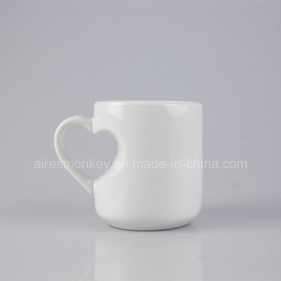 Various Sizes Glazing Ceramic Tea Mug for Custom Logo Printing