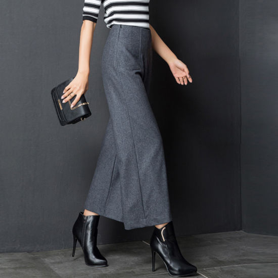 Wholesale High Waisted Wide Leg Trousers for Women