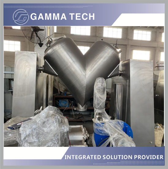 Syh / V Series Three-Dimensional Oscillating Mixer Is Suitable for High Uniformity Mixing of Pharmacy/Food/and Other Powdery and Granular Materials