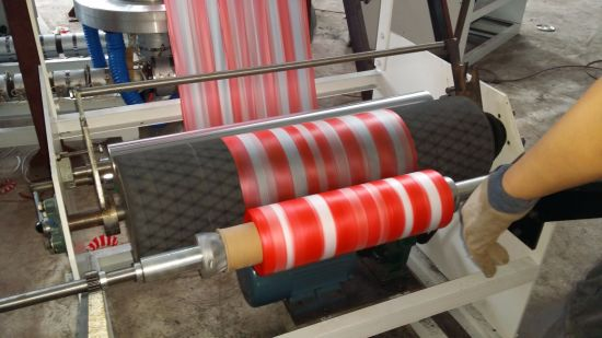 Single Layer Fluently Colour Bar Film Blowing Machine pictures & photos