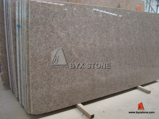 Almond Mauve Red Granite Slab For Floor Tile Worktop Countertop