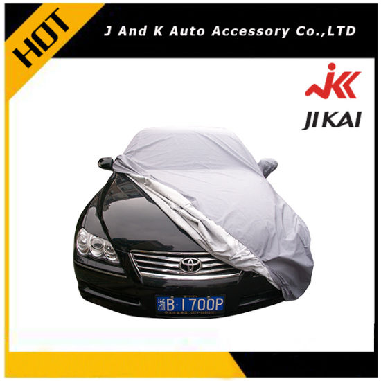 Anti Water Full Size Outdoor Insulated Sun Protection Car Cover