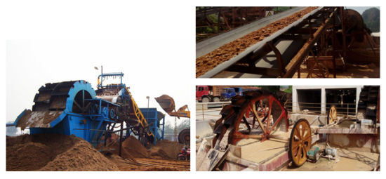 Sand Washing Plant Machine in Stone Crusher Production Line pictures & photos