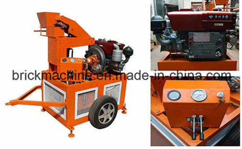 Small Business Equipment - Manual Concrete Block Machine Hr1-20 pictures & photos
