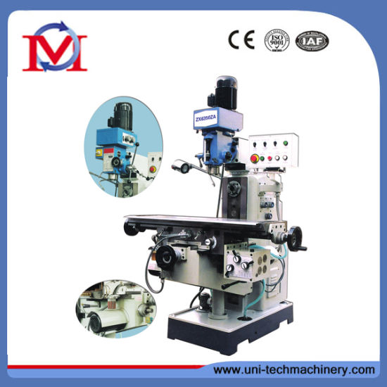 Small Universal Drilling and Milling Machine Zx6350za pictures & photos