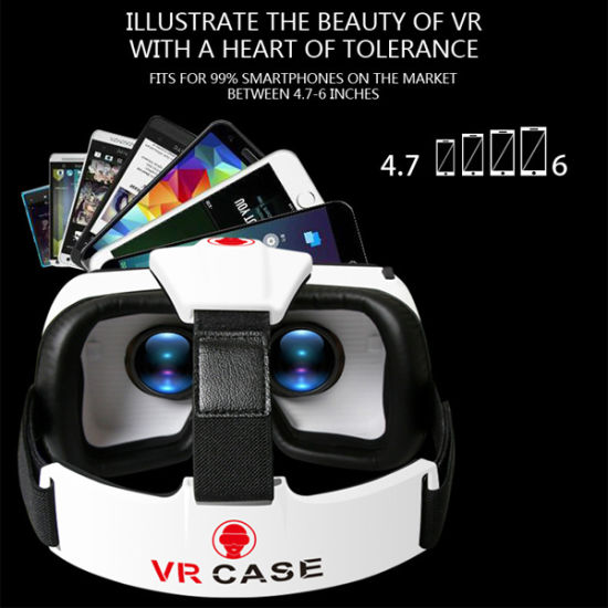 2016 Virtual Reality Vr Case with Bluetooth Remote Controller pictures & photos