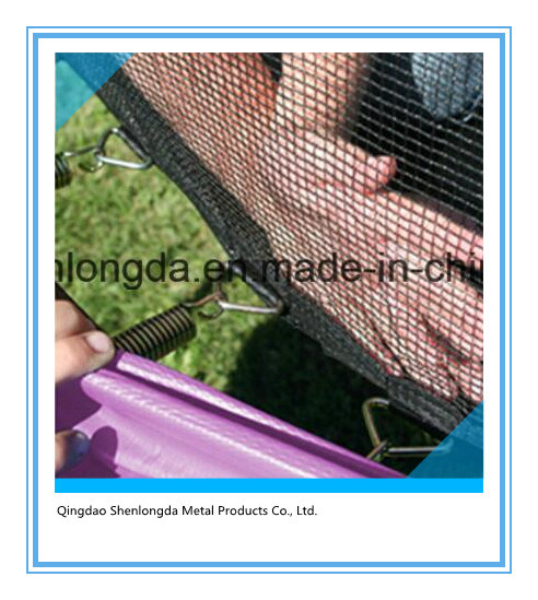 Outdoor 16FT Trampoline with Outer Net for Family Fun pictures & photos