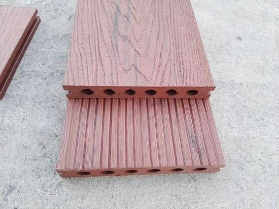Mixed Color WPC Composite Outdoor Decking pictures & photos