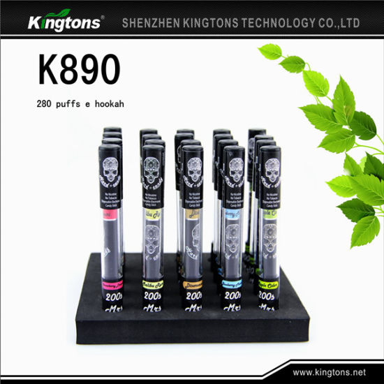 High Quality E Shisha Pen Hot Selling Mini Disposable E Cigarettes (K890) pictures & photos