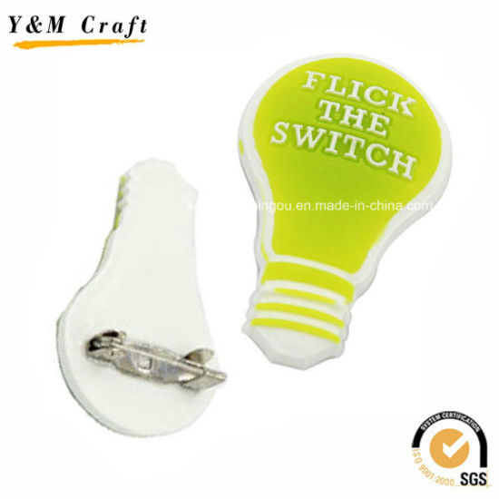 Soft PVC Type Promotion Coat Lapel Pin Ym1103 pictures & photos