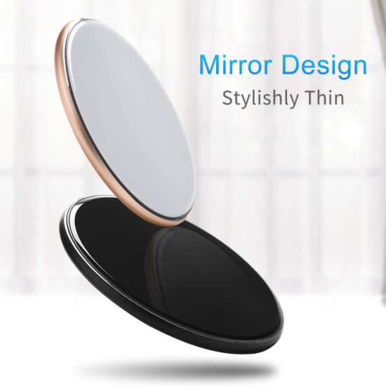 Mobile Cell Phone Qi Wireless Charger with USB Fast Charging Station 10W
