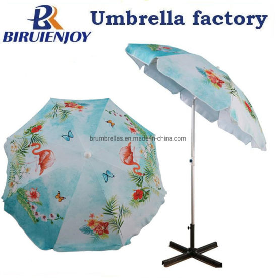 Custom Portable Patio Umbrella with Custom Printing by Digital 180/200/220cm