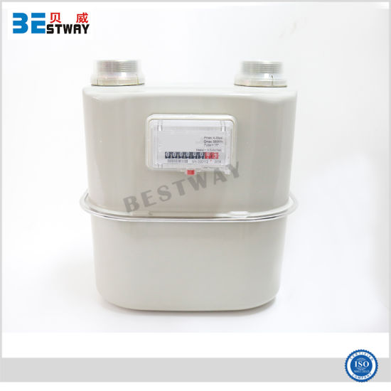 Industrial IC Card Wireless Remote Gas Meter in Commercial Use pictures & photos