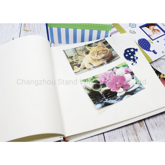 China Traditional Photo Albums Factory Large Capacity Printed Cover Diy Album Family Album Holds 600 Horizontal And Vertical Photos