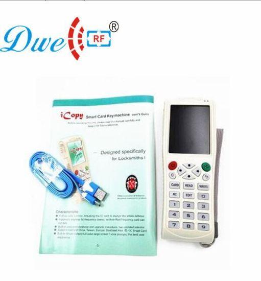 125KHz Frequency IC-Card ID Tag Writer Reader Copier RFID Duplicator Handheld