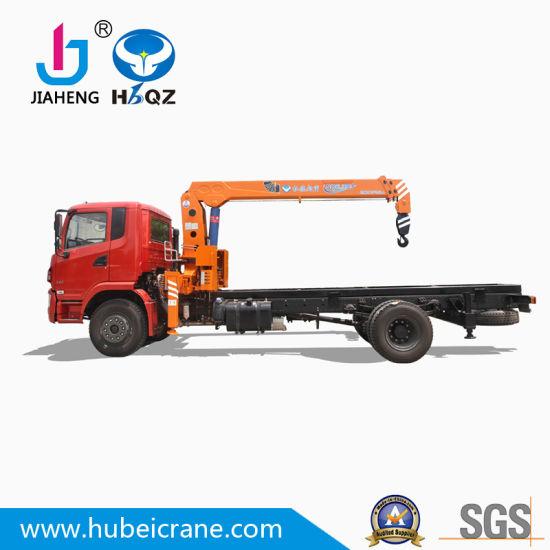 China Factory HBQZ 6.3 Ton Mini crane Telescopic Boom Crane Container Truck Cranes in Dubai (SQ6.3S3)