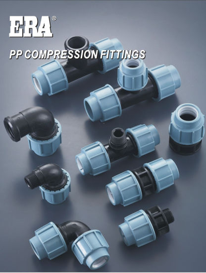 Era Piping Systems Eniso1587AS/NZS4129 Standard PP Compression Fitting with Watermark & Wras