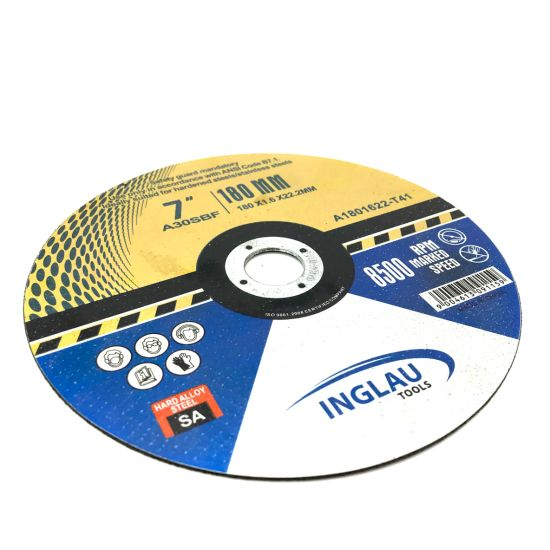 125*1.0X22.2mm Extra Thin Cutting Disc with Ceramic