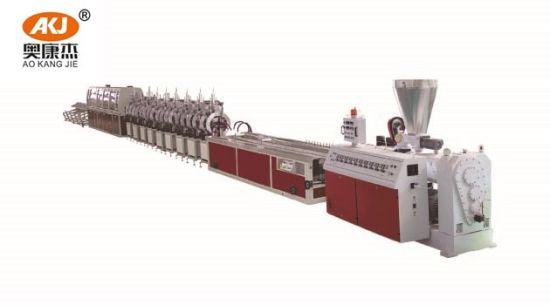 Factory Price Good Quality PVC Marble Profile Making Machine PVC Marble Profile Extruder