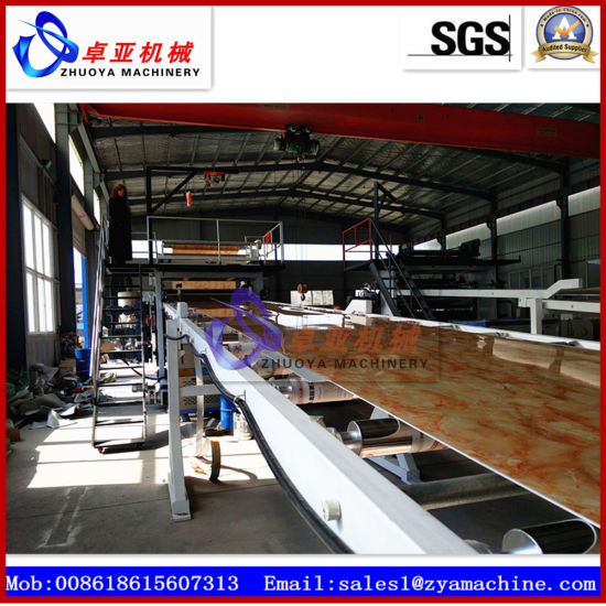 PVC Imitation Marble Wall Panel Board Extrusion Machine pictures & photos