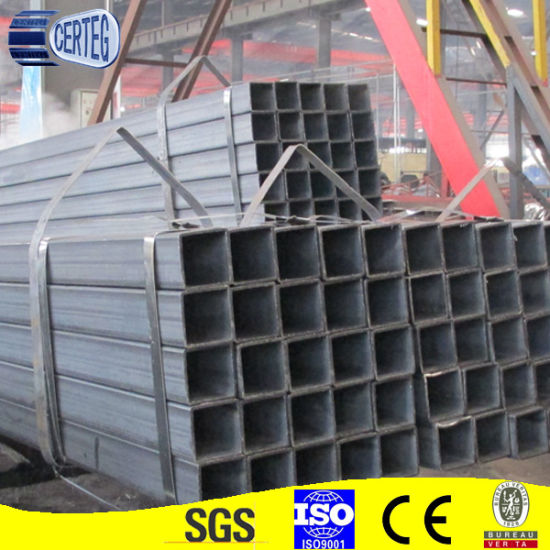 Black Iron Square Tube Rectangular tube at factory price