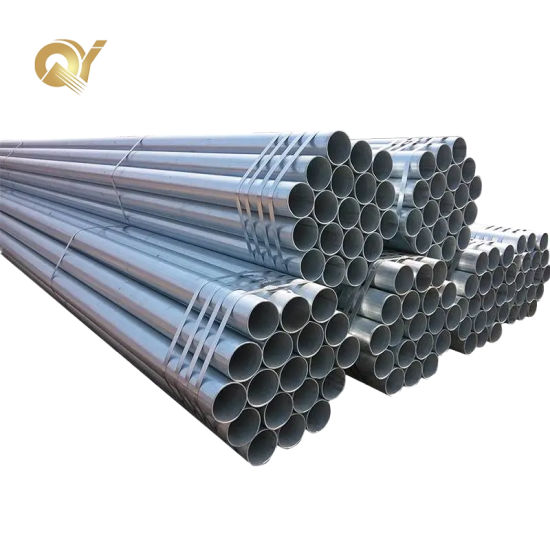 Hot DIP Sch40 A53 API 5L Gr. B Seamless/ ERW Spiral Welded / Alloy Galvanized/Gi Square/Rectangular/Round Carbon Steel Pipe