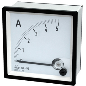 96 Moving Coil Instrument DC Ammeter with CE