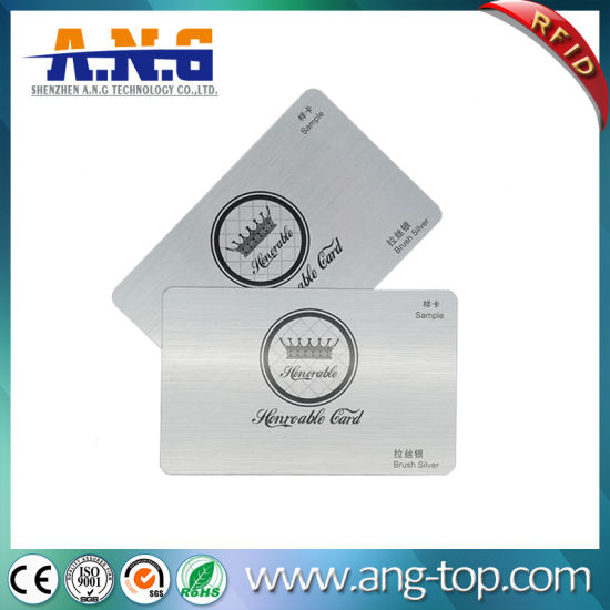 Full Color Printing RFID Contactless Smart Card pictures & photos