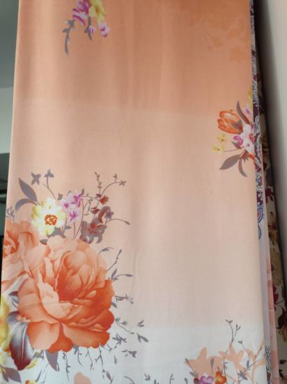 Flowers Style Bedding Sheet for 100% Polyester Fabric
